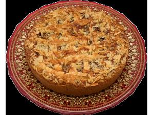 Пирог миндальный