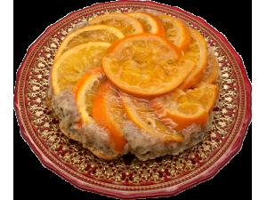 Пирог миндально-апельсиновый